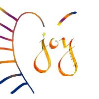 Joy With White
