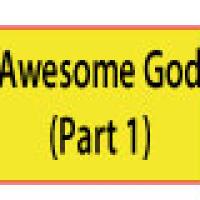 Awesome God 1