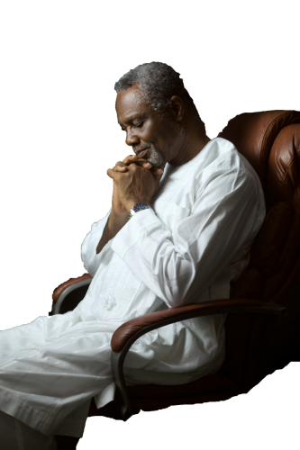 Bro. Ishmael Tetteh in Contemplation