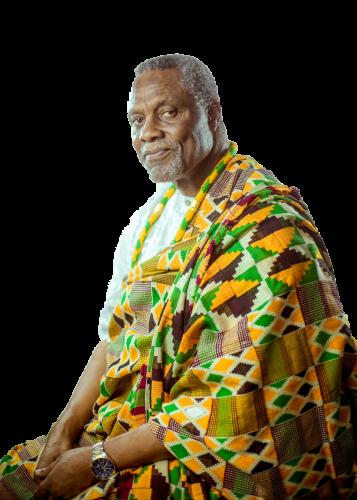 Bro. Ishmael Tetteh in African Spirit